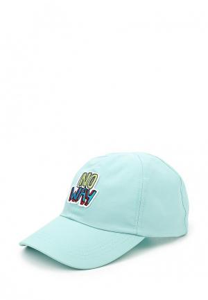 Бейсболка Topman. Цвет: голубой