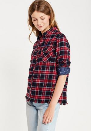 Рубашка Pepe Jeans. Цвет: красный