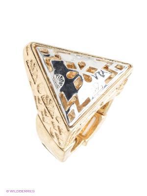 Кольцо AVGAD. Цвет: золотистый, серебристый