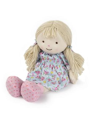 Кукла-грелка Оливия Warmies. Цвет: голубой