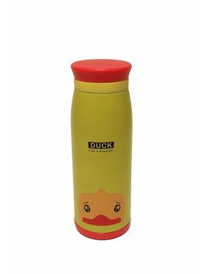Термос 0,5 л с животными Eleon. Цвет: светло-желтый, желтый, оранжевый