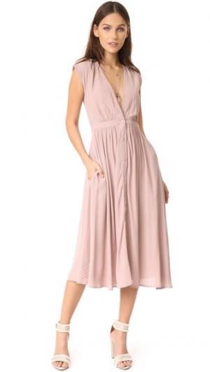 Платье Secret Garden Knot Sisters. Цвет: пыльная лилия