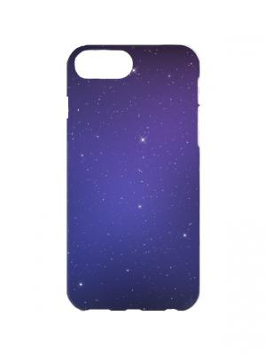 Чехол для iPhone 7Plus Космическая ночь Арт. 7Plus-073 Chocopony. Цвет: синий