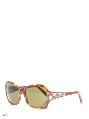 Солнцезащитные очки CH 218 CA 2001 CAROLINA HERRERA. Цвет: коричневый