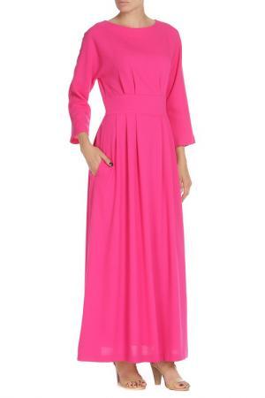 Платье-макси NATALIA PICARIELLO. Цвет: розовый