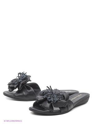Шлепанцы Felina shoes. Цвет: черный
