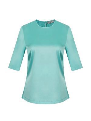 Блузка APRELLE. Цвет: светло-зеленый