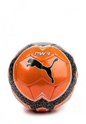 Мяч футбольный PUMA. Цвет: оранжевый