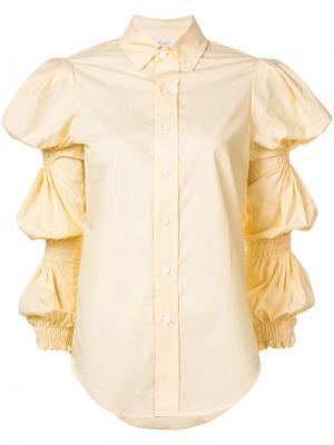 Рубашка Ophelia Petersyn. Цвет: жёлтый и оранжевый
