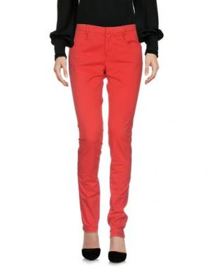 Повседневные брюки BOY by BAND OF OUTSIDERS. Цвет: красный