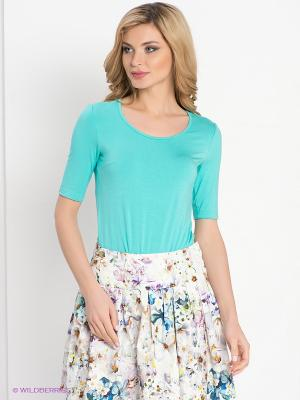 Блузка DEVORE. Цвет: голубой