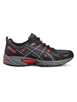 Спортивная обувь GEL-VENTURE 5 ASICS. Цвет: черный, красный