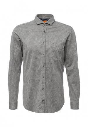 Рубашка Boss Orange. Цвет: серый