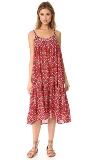 Платье Sophia XIRENA. Цвет: красный