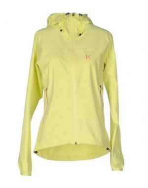 Куртка HAGLÖFS. Цвет: светло-желтый