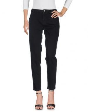 Джинсовые брюки HEAVY PROJECT. Цвет: черный