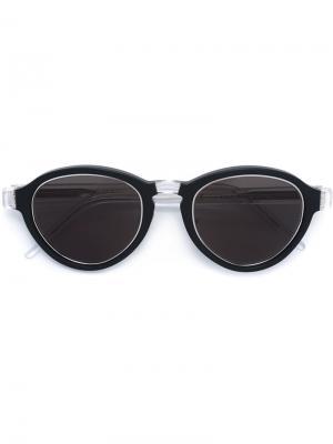 Солнцезащитные очки Versilia Retrosuperfuture. Цвет: чёрный