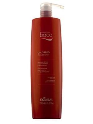 Baco Кондиционер для окрашенных волос с гидролизатами шелка Colorpro Conditioner 1000мл. Kaaral. Цвет: темно-красный