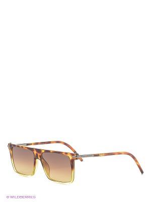 Солнцезащитные очки MARC JACOBS. Цвет: черный, коричневый