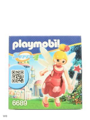 Супер4: Фея Лорелла Playmobil. Цвет: красный, белый, желтый