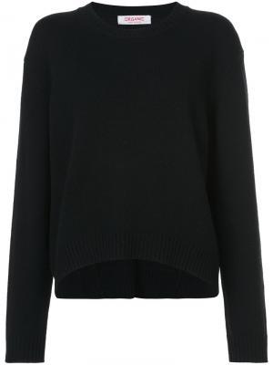 Классический свитер Organic By John Patrick. Цвет: чёрный