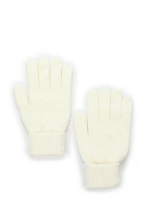 Перчатки Modis. Цвет: белый