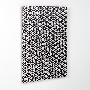 Настенное декоративное панно Acilia La Redoute Interieurs. Цвет: черный/ белый