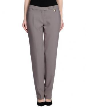 Повседневные брюки MRESALE. Цвет: голубиный серый