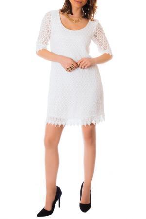 Платье LES GAMINES DE PARIS. Цвет: белый