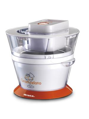 Ariete Мороженица 638 Gran Gelato.  1л мороженого. Цвет: белый