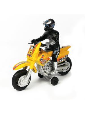 Мотоцикл Азбука Тойс. Цвет: желтый
