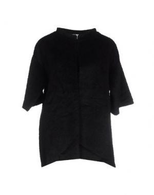 Куртка PINK BOW. Цвет: черный
