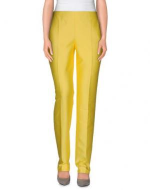 Повседневные брюки EMANUEL UNGARO. Цвет: желтый