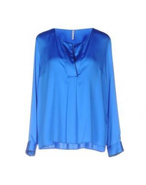 Блузка AGLINI. Цвет: лазурный