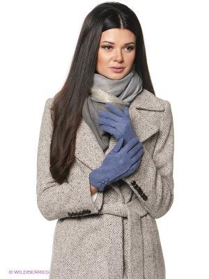 Перчатки женские Sabellino. Цвет: синий