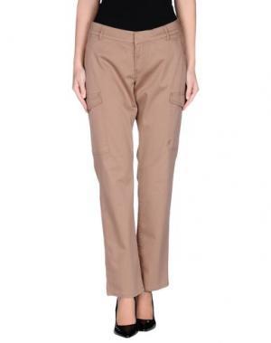 Повседневные брюки TIMBERLAND. Цвет: верблюжий
