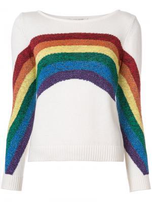 Топ Rainbow Marc Jacobs. Цвет: белый
