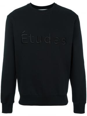 Толстовка Étoile Études. Цвет: чёрный