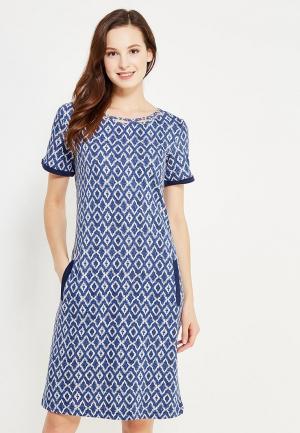 Платье Relax Mode. Цвет: синий