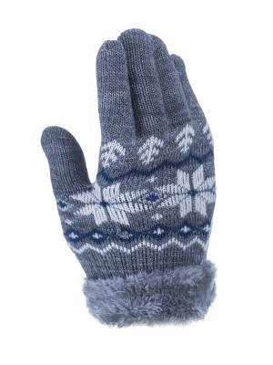 Перчатки детские Cascatto. Цвет: серый