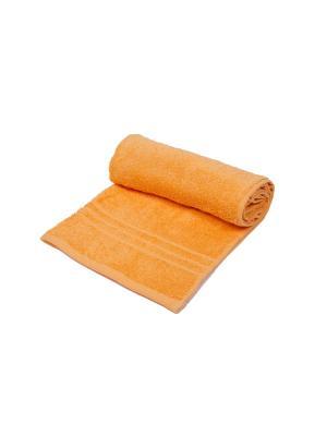 Полотенце махровое ARLONI. Цвет: оранжевый