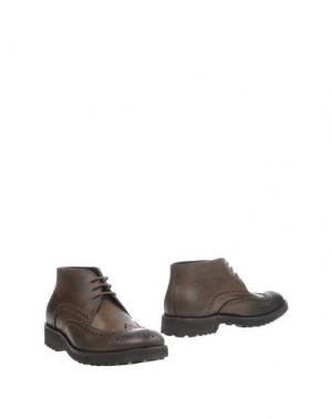 Полусапоги и высокие ботинки GIANFRANCO LATTANZI. Цвет: зеленый-милитари
