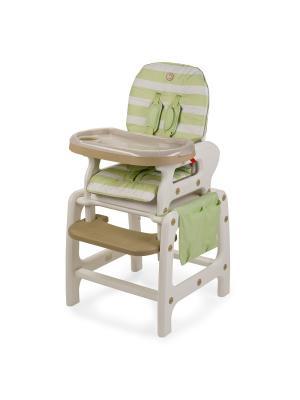 Стул для кормления Happy Baby Oliver V2. Цвет: зеленый