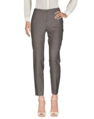 Повседневные брюки LORENA ANTONIAZZI. Цвет: серый