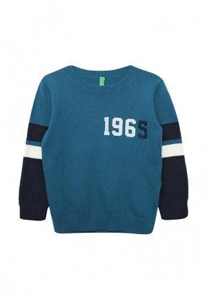 Джемпер United Colors of Benetton. Цвет: бирюзовый