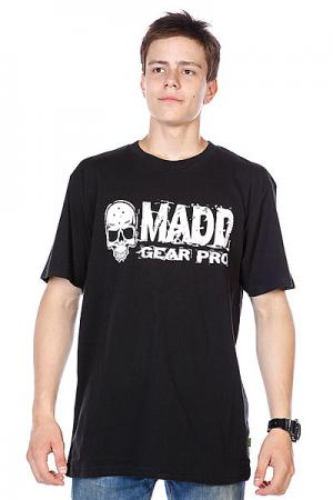 Футболка  T-shirt Corpo Black/White MGP. Цвет: черный