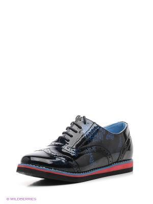 Туфли Болеро. Цвет: черный, синий
