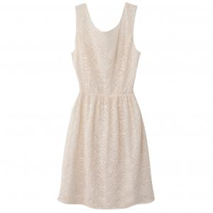 Платье без рукавов с застёжкой сзади MOLLY BRACKEN. Цвет: слоновая кость