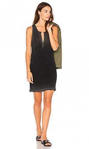 Платье moore TYLER JACOBS. Цвет: черный