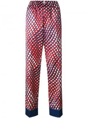 Пижамные брюки Etere F.R.S For Restless Sleepers. Цвет: красный